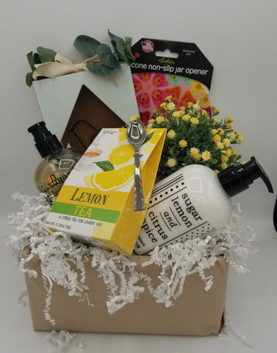 tea, hand lotion, youngs, inc., gift baskets, gift baskets near me, local delivery, gift baskets for women, gift basket green bay, gift basket wisconsin