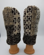 Load image into Gallery viewer, handmade mittens, handmade green bay wisconsin, recycled mittens. wool