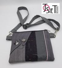 Load image into Gallery viewer, crossbody bag, waist bag crossbody purse, fanny pack belt bag,