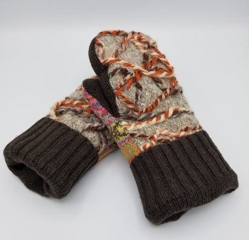 handmade mittens, handmade green bay wisconsin, winter mittens. wool mitten, recycled sweater mittens