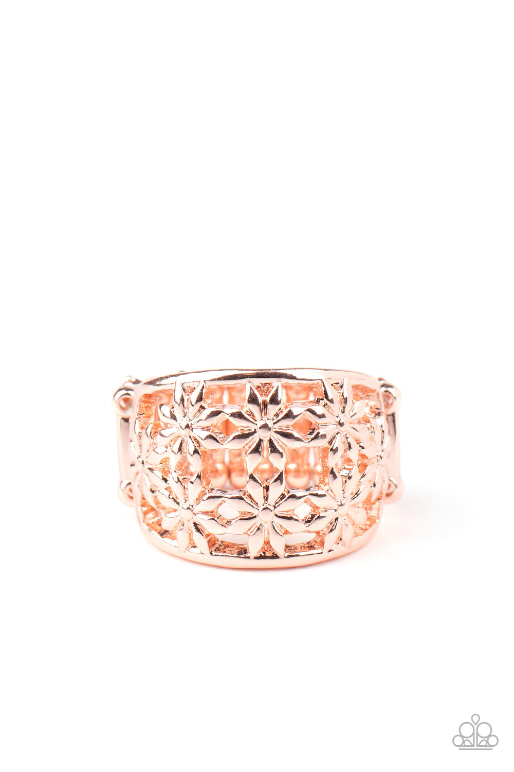 Crazy About Daisies - Rose Gold