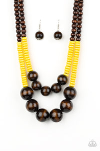 Cancun Cast Away - Yellow - Trendy Jewels Boutique By Jenn