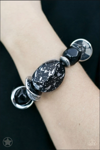 In Good Glazes- Black Necklace &  Glaze of Glory- Black Bracelet