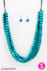 Summer Mai Tai - Blue - Trendy Jewels Boutique By Jenn