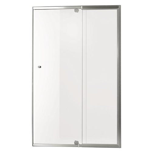 Smart Pivot Shower Screen Front Only M5890 Silver