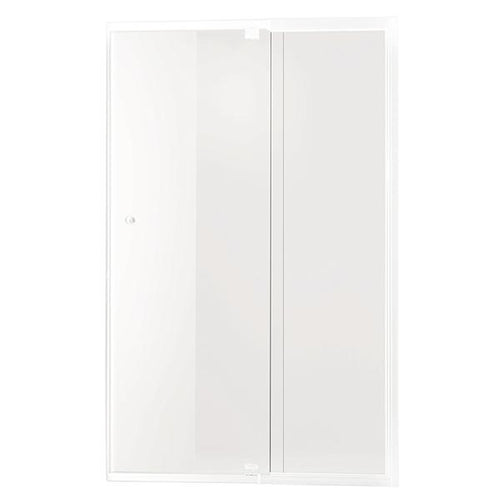Smart Pivot Shower Screen Front Only M5990 White