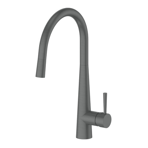 Galiano Pull-Down Sink Mixer Gun Metal