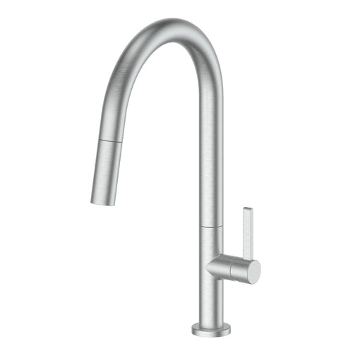 Luxe Pull Down Sink Mixer Brushed Stainless