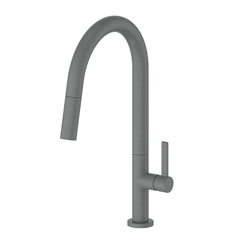 Luxe Pull Down Sink Mixer Gun Metal