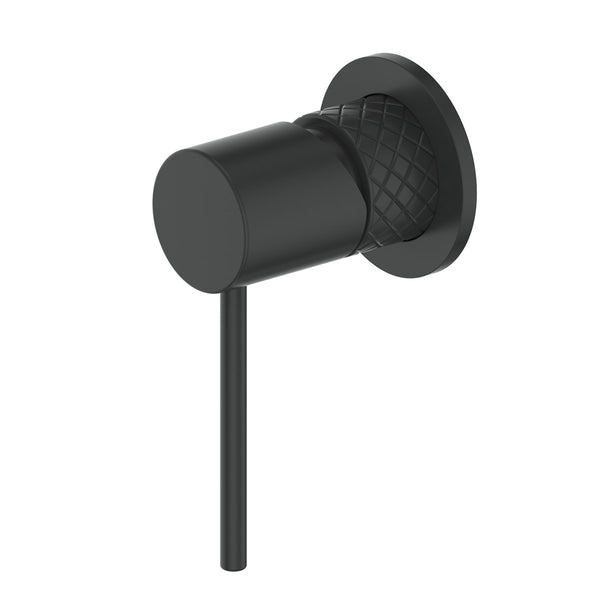 Load image into Gallery viewer, Textura Shower Mixer Matte Black