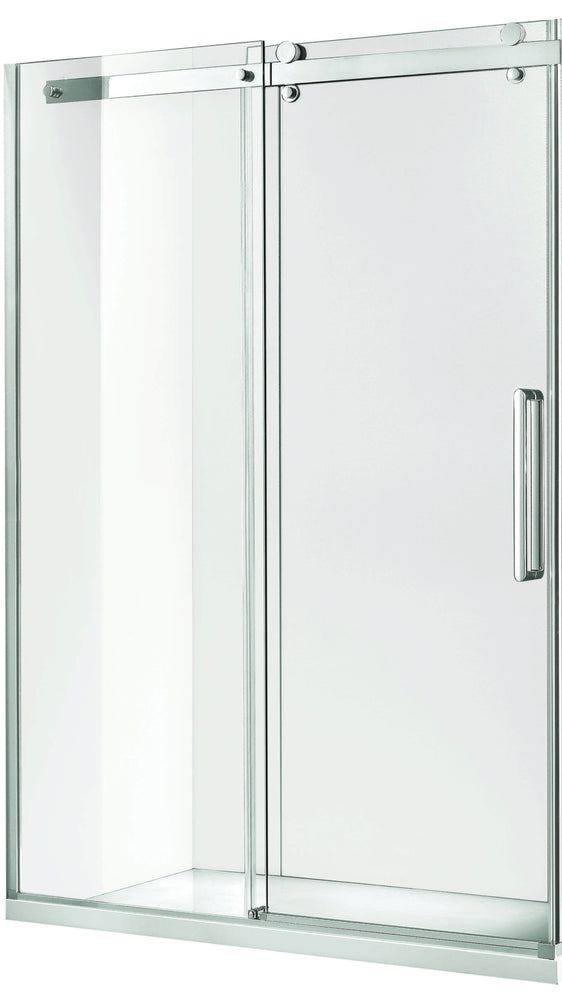 Load image into Gallery viewer, Euro Frameless Sliding Shower Screen Front Only 1470 Silver