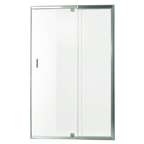Smart Pivot Shower Screen Front Only M51480 Silver