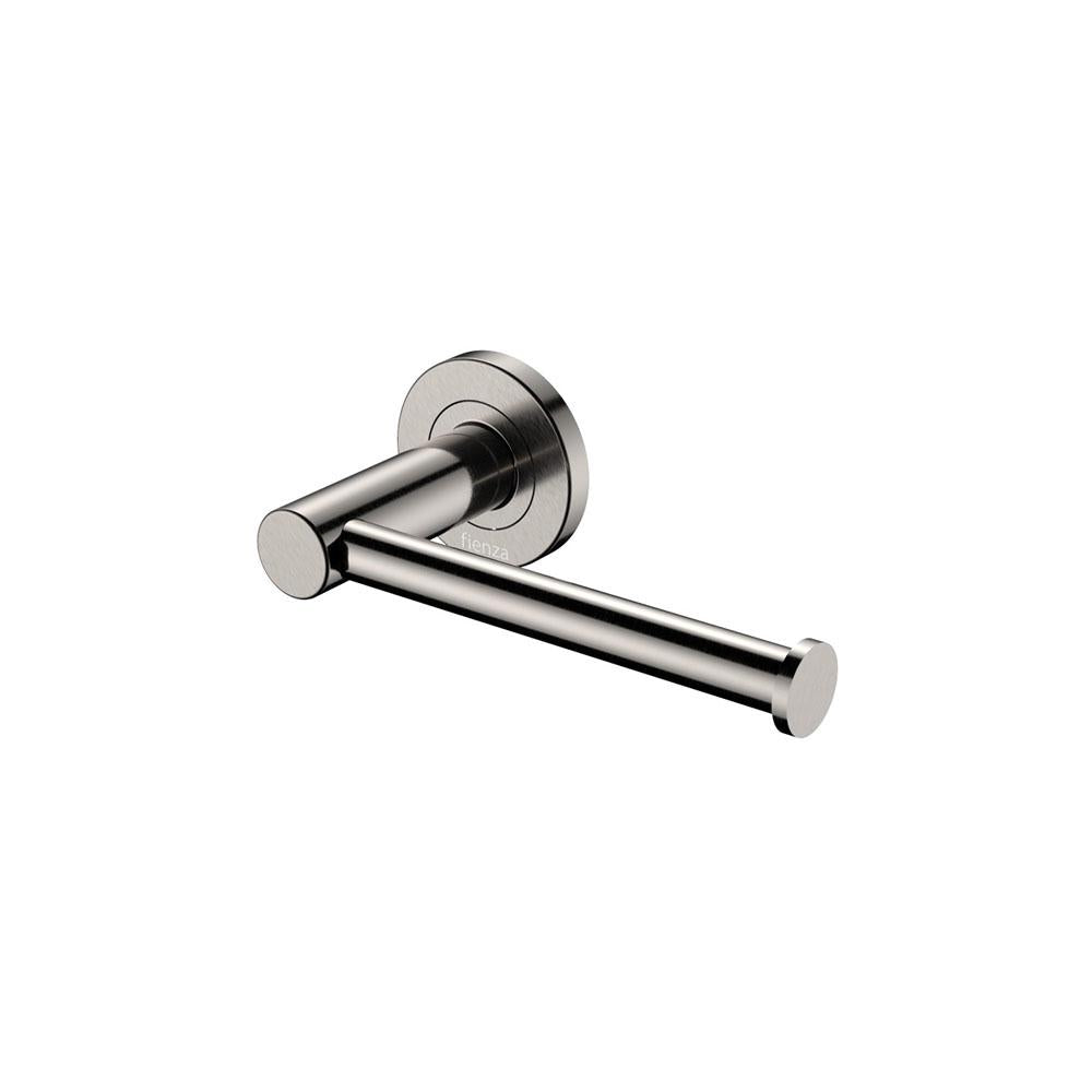 Kaya Toilet Roll Holder Brushed Nickel