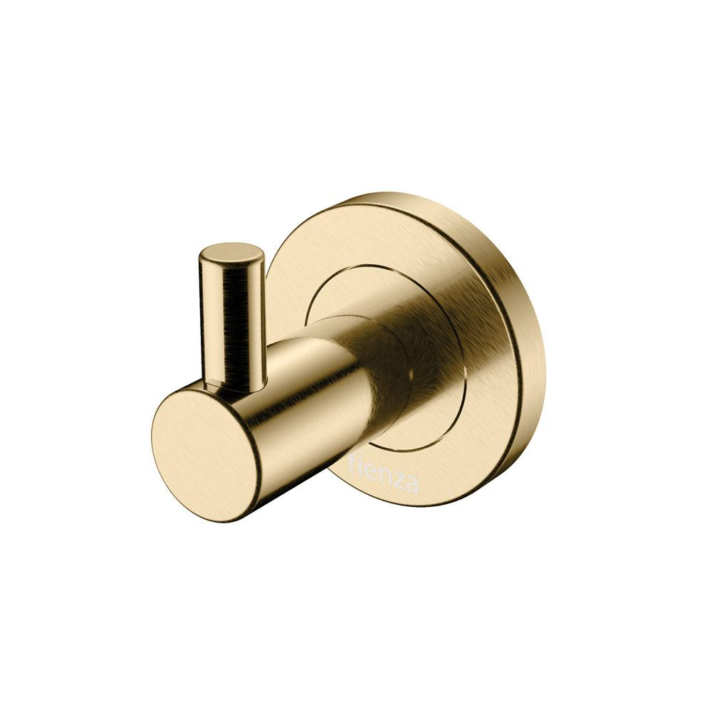 Kaya Robe Hook Urban Brass
