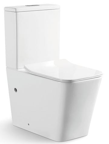 ACQUA-III Wall Faced Rimless Toilet Suite