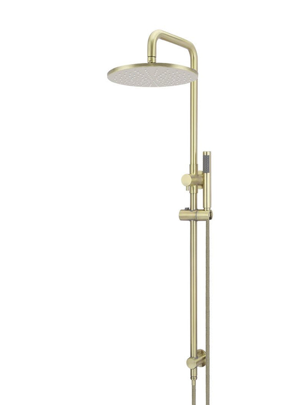 Load image into Gallery viewer, round-2-in-1-shower-rail-set-tiger-bronze