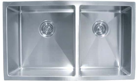 Impact Undermount Double Sink