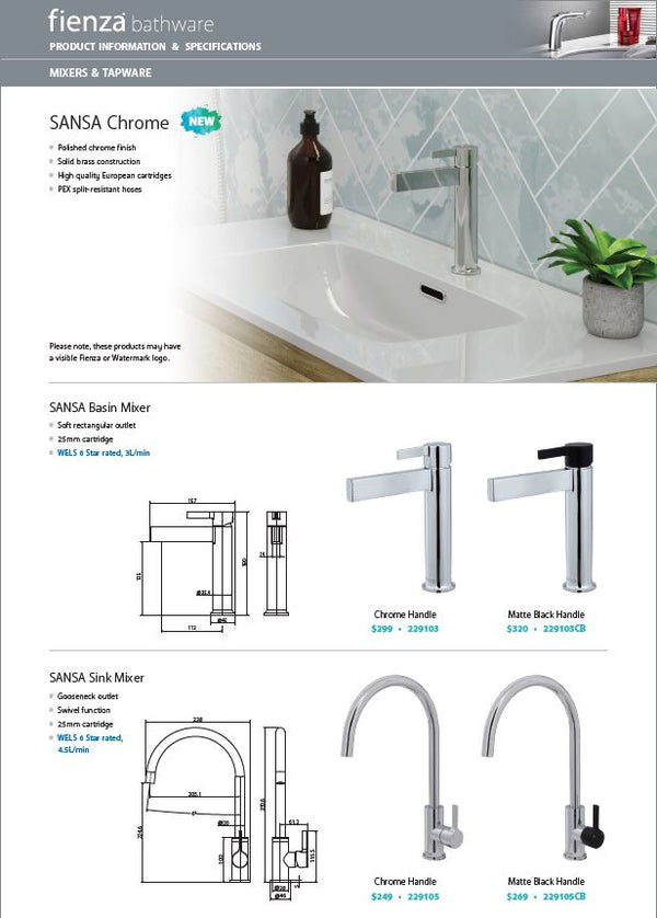 Load image into Gallery viewer, Sansa Basin Mixer