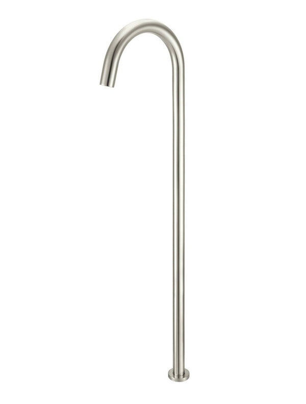 Load image into Gallery viewer, round-freestanding-bath-spout-pvd-brushed-nickel
