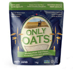 Load image into Gallery viewer, ONLY OATS (Variety Pack) - Rolled Oats / Quick Flakes / Oat Flour / Steel Cut Oats