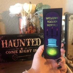 FOOLISH MORTALS BOOKMARK