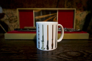 THE WAND CHOOSES THE WIZARD MUG