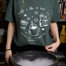 Load image into Gallery viewer, MAGICAL BREWS GREEN TEE