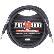 Load image into Gallery viewer, Pig Hog Instrument Cable 10'