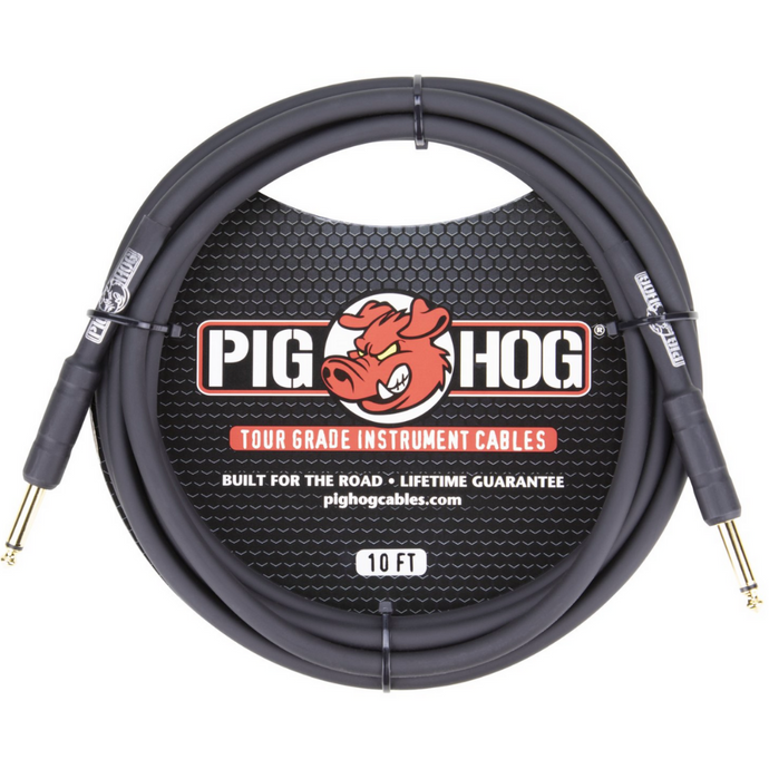 Pig Hog Instrument Cable 10'
