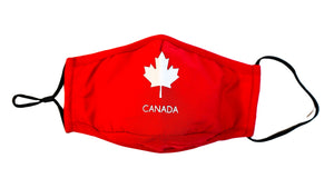 Classic Canadian maple leaf washable reusable 3 layers cotton face mask