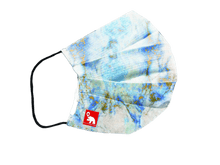 Load image into Gallery viewer, Marble blue antibacterial washable waterproof face mask