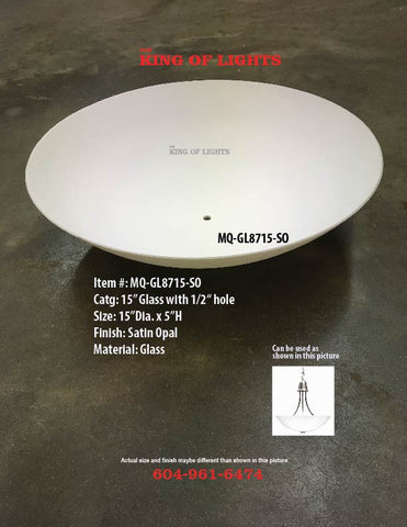 "15"" Round Light Shade"