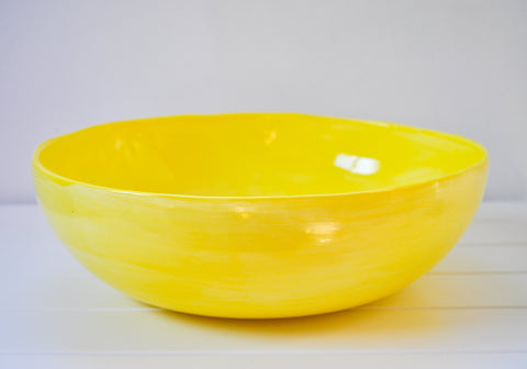 WELCOME BOWL YELLOW