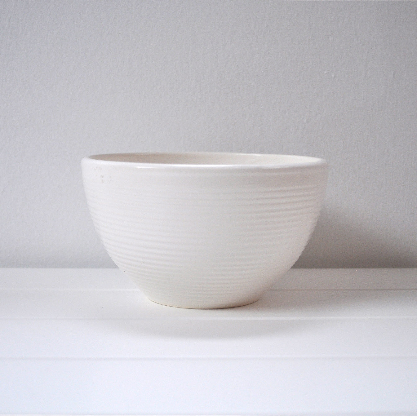 NOODLE BOWL MEDIUM WHITE