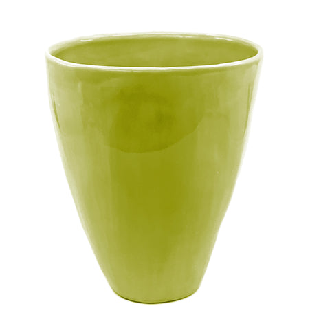 BLOSSOM VASE CHARTREUSE