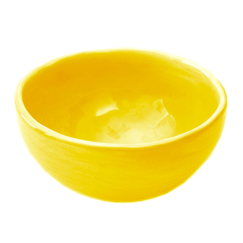 GLOBE BOWL YELLOW
