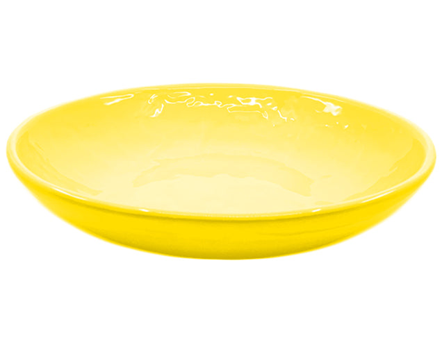 LARGE DISH YELLOW
