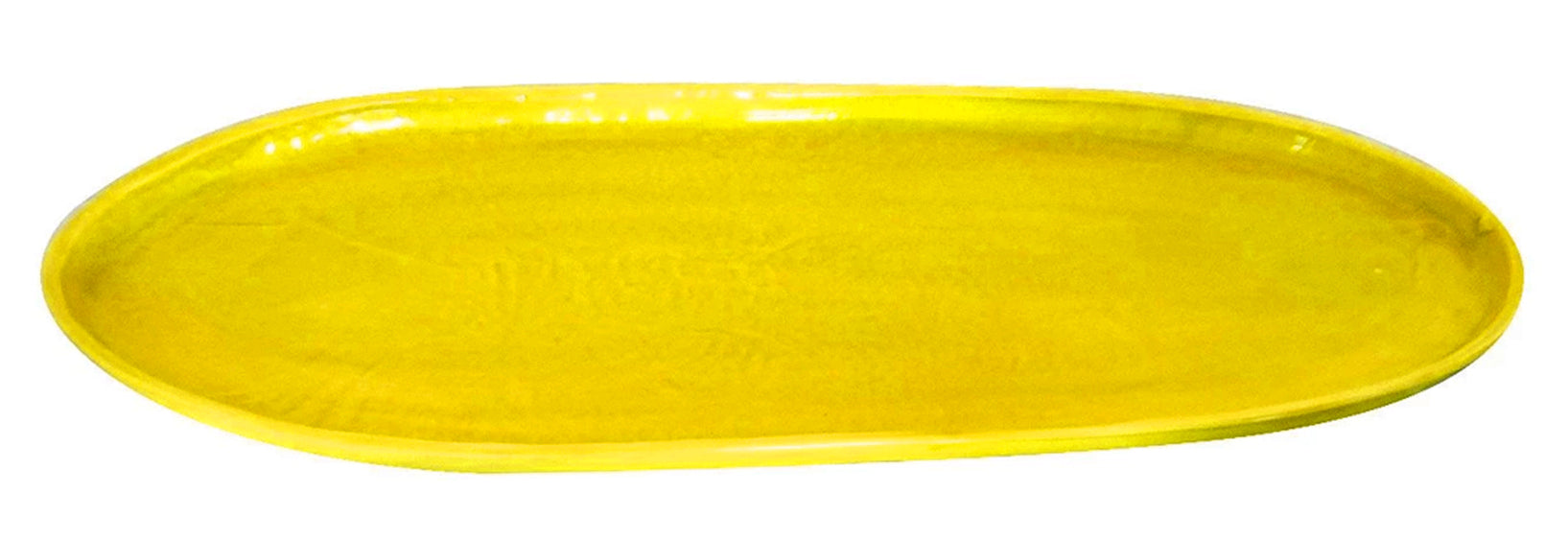 OVAL PLATTER YELLOW