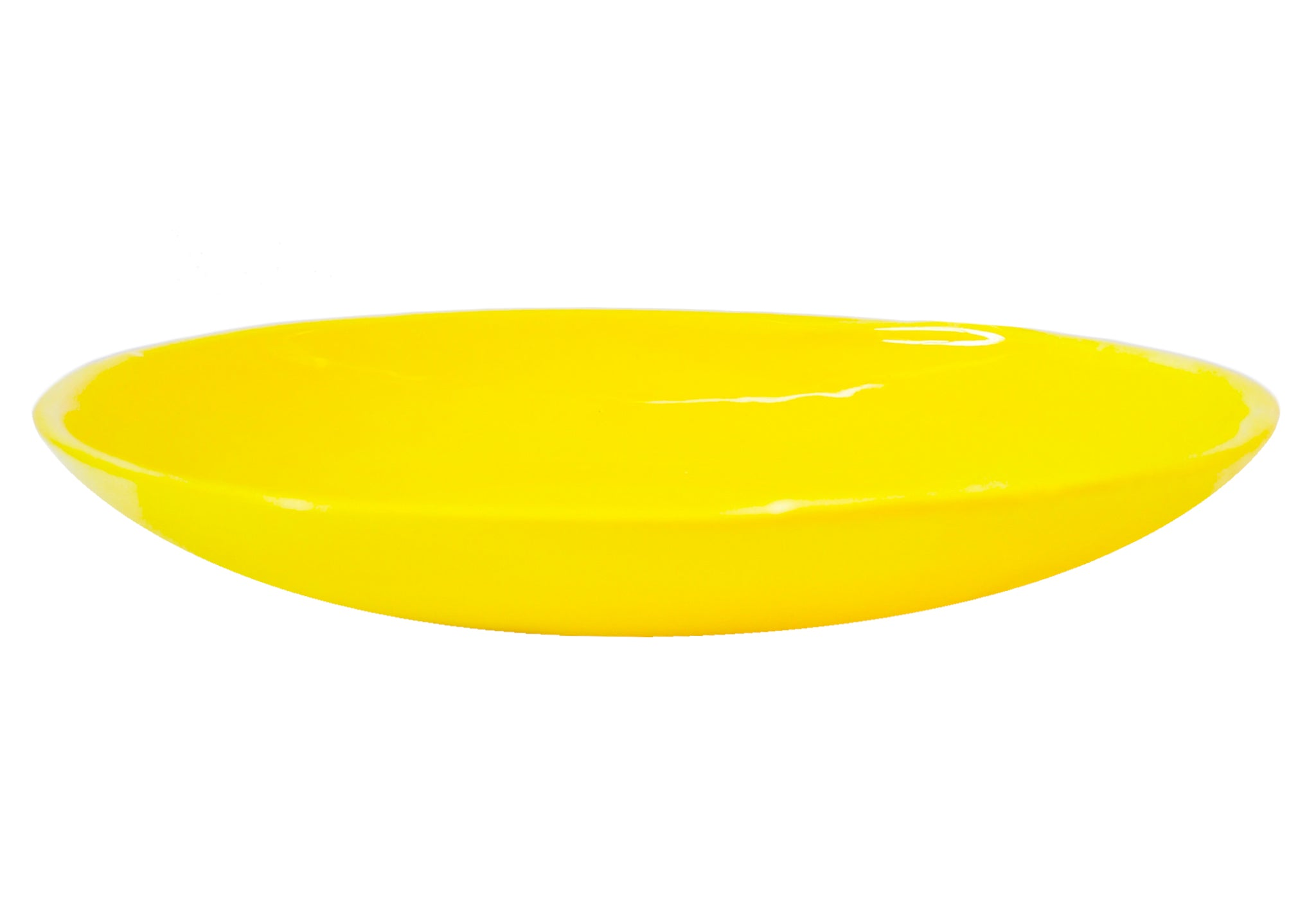 MEDIUM DISH YELLOW