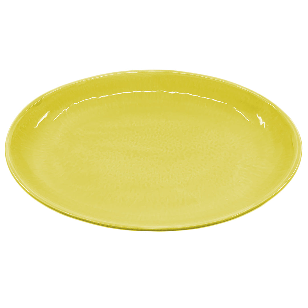OVAL SERVING CHARTREUSE