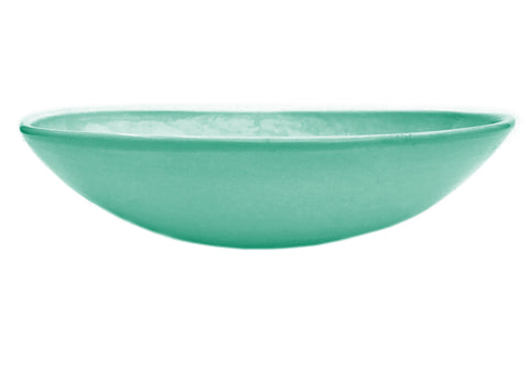 OVAL SHARING BOWL SEA FOAM