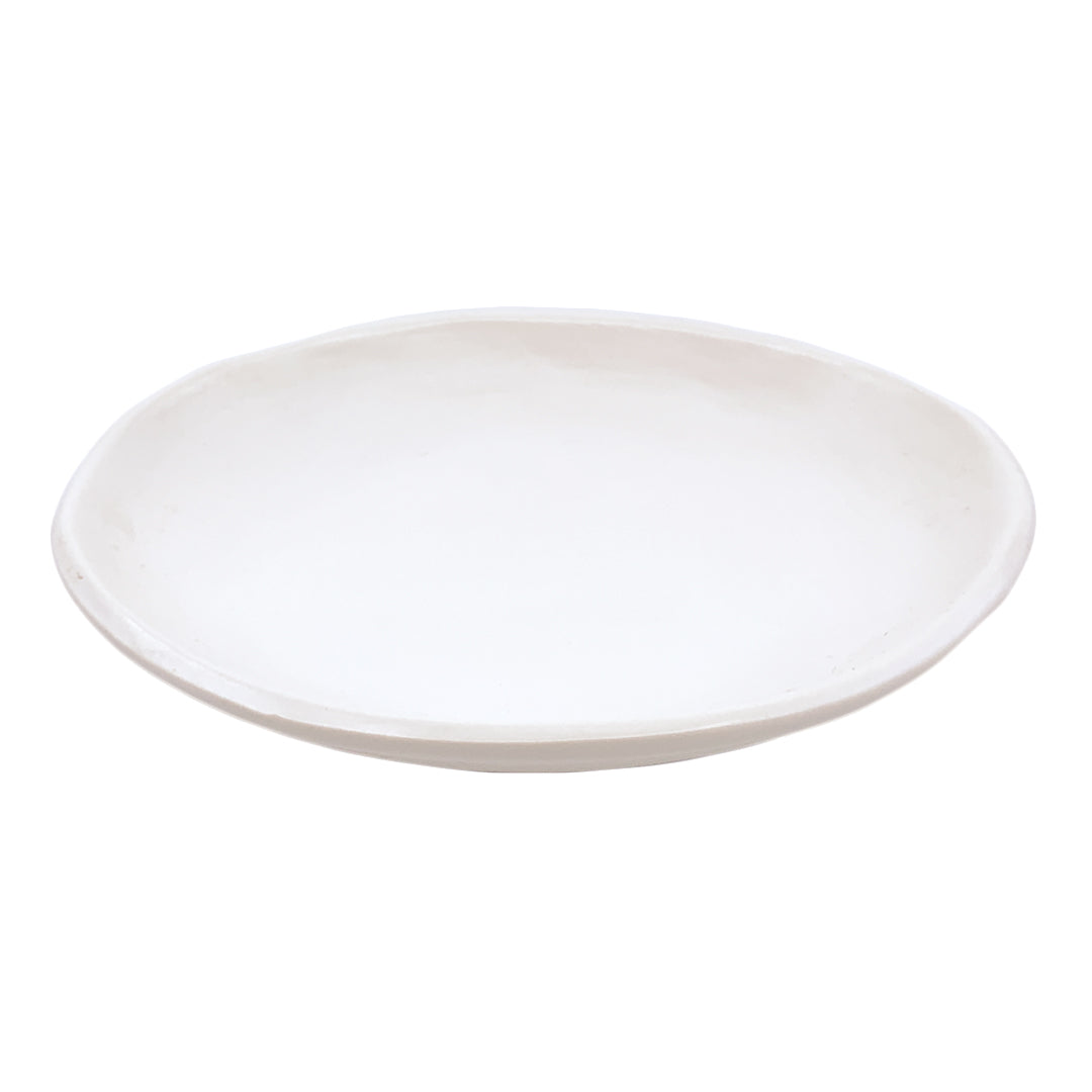 OVAL SOAP DISH SATIN