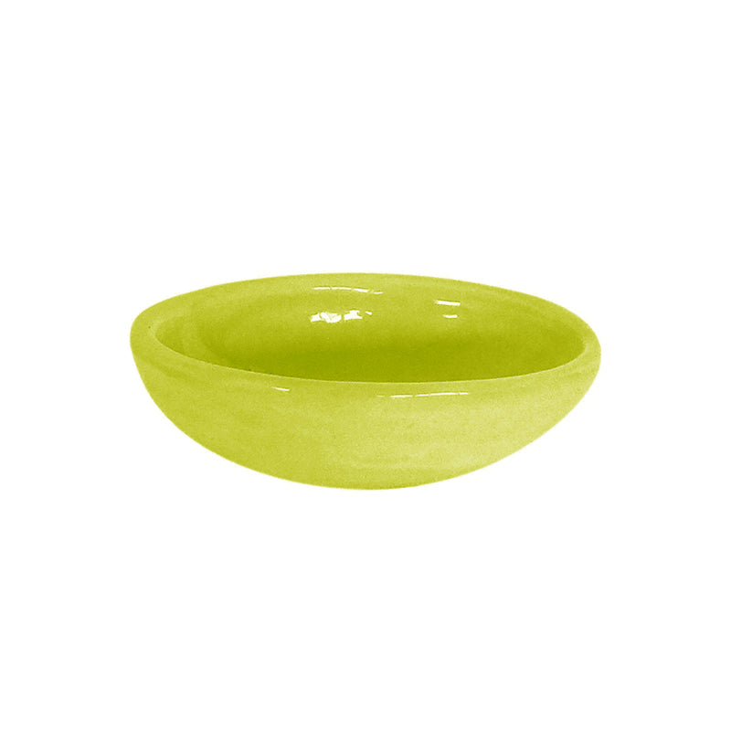 OVAL SPICE DISH CHARTREUSE