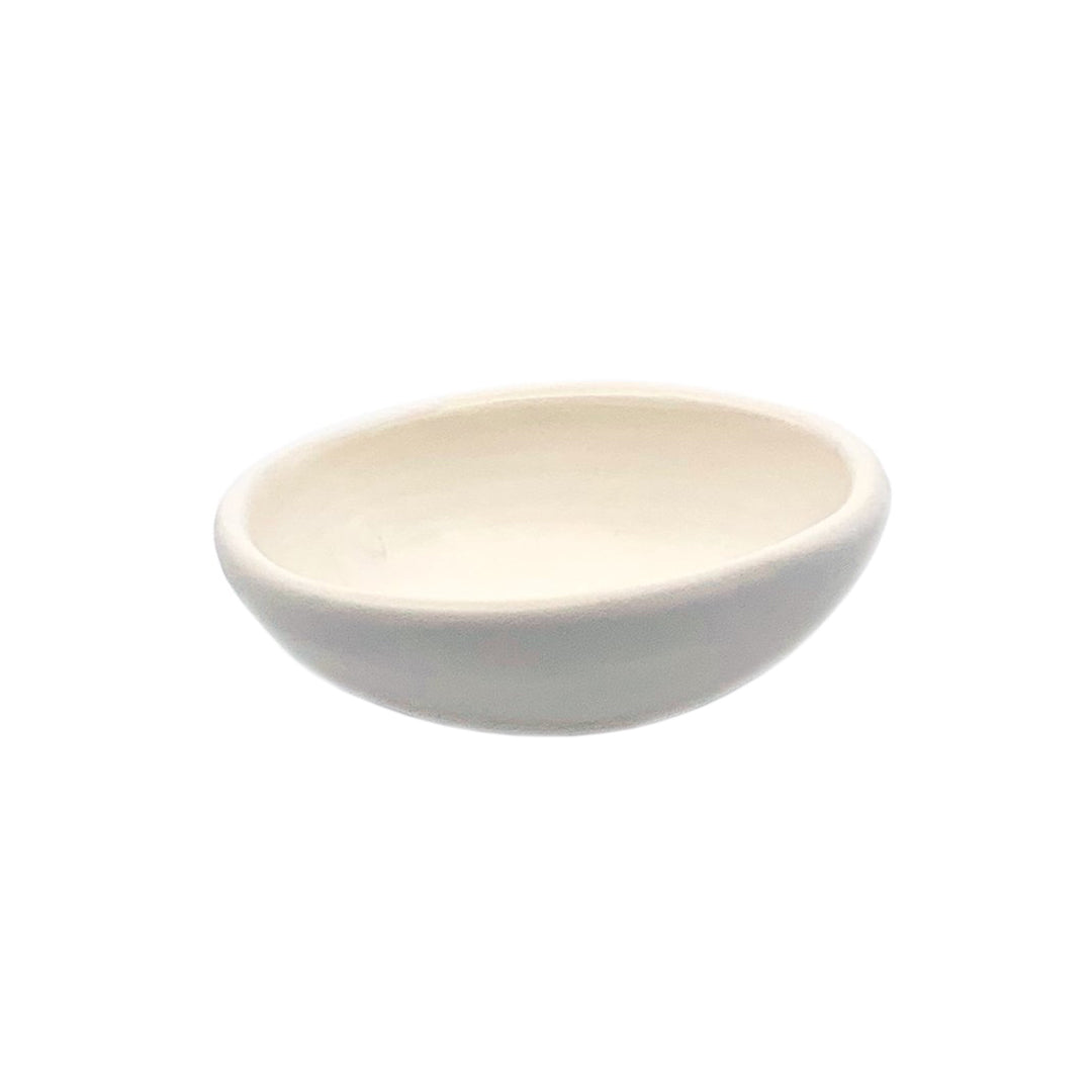 OVAL SPICE DISH PEARL
