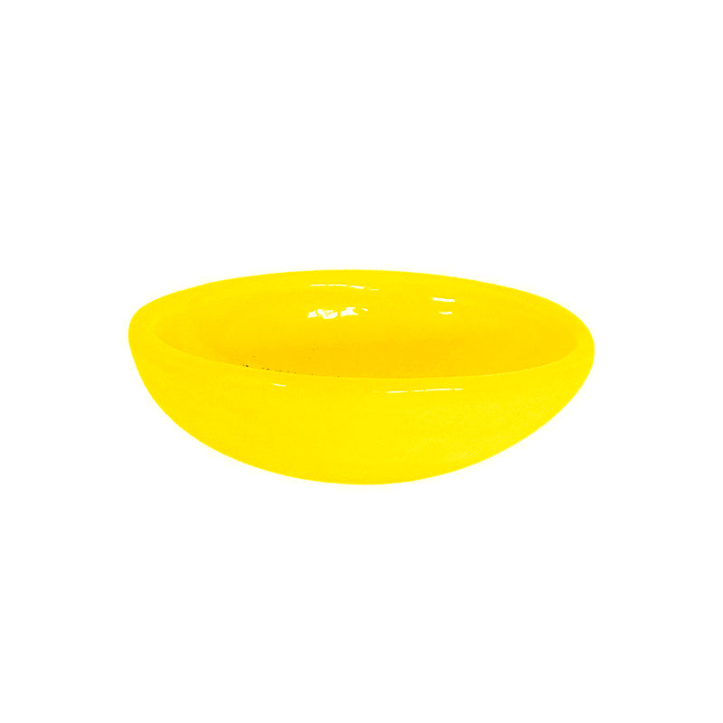 OVAL SPICE DISH YELLOW