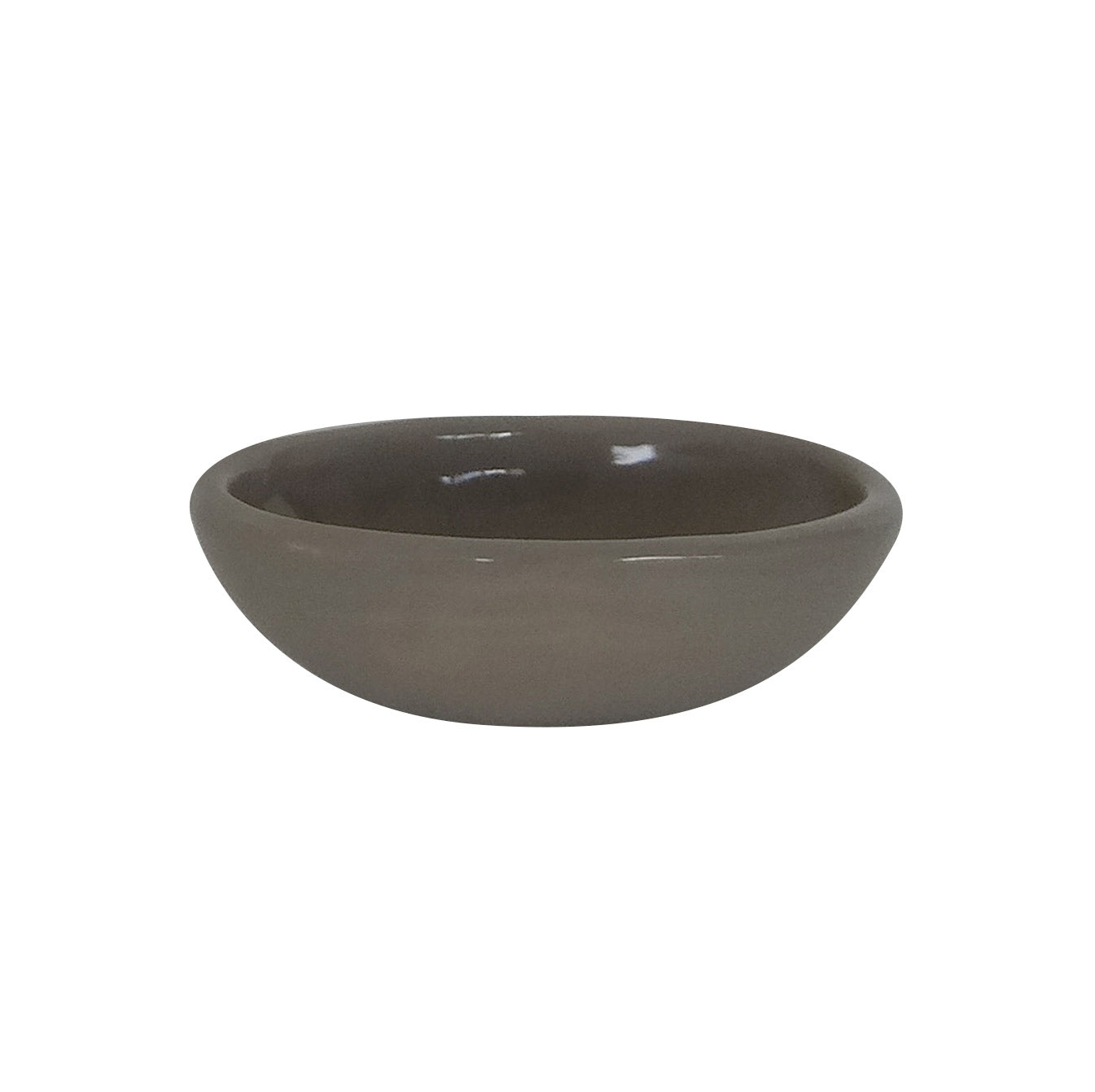 OVAL SPICE DISH TAUPE
