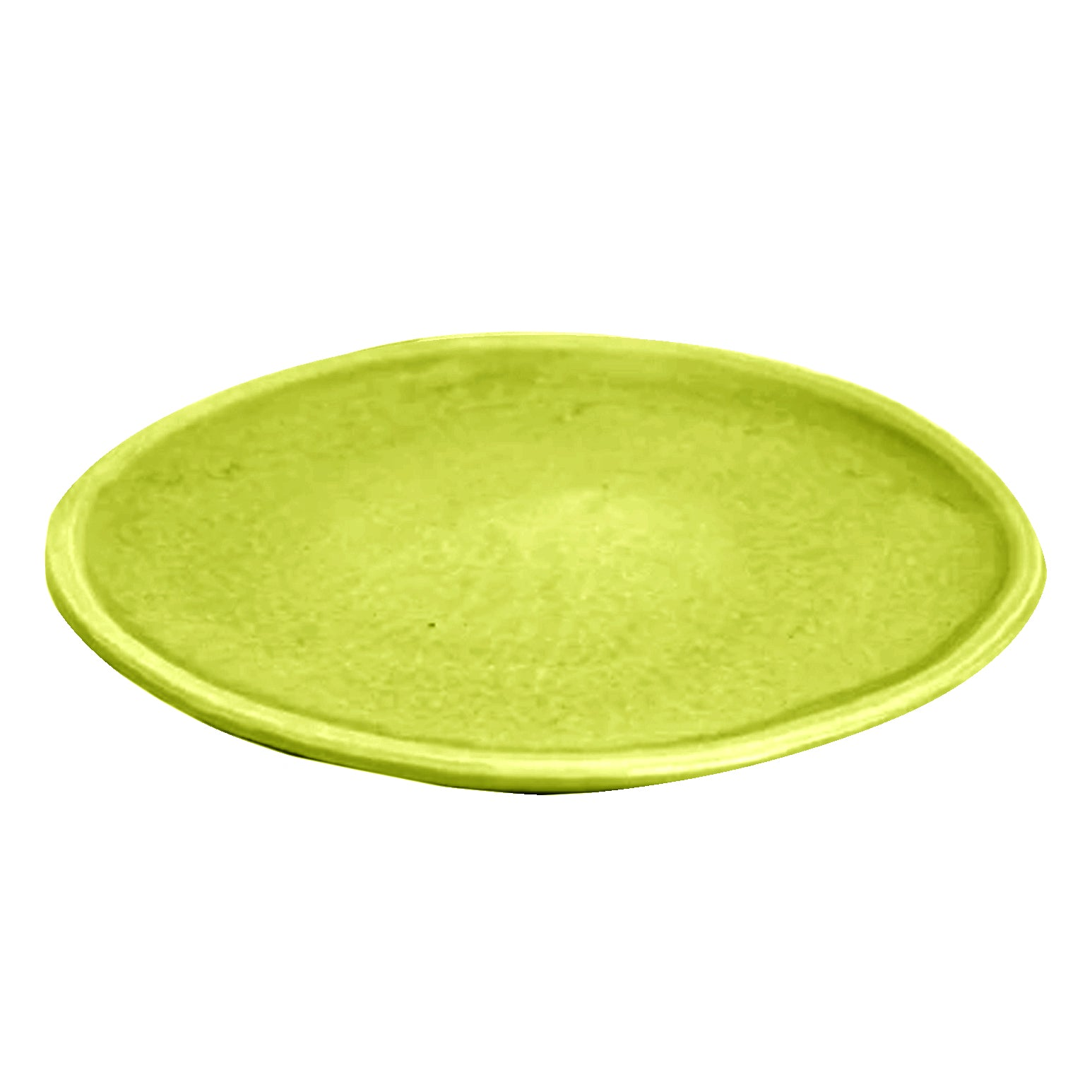 Peasant Plate Small Chartreuse