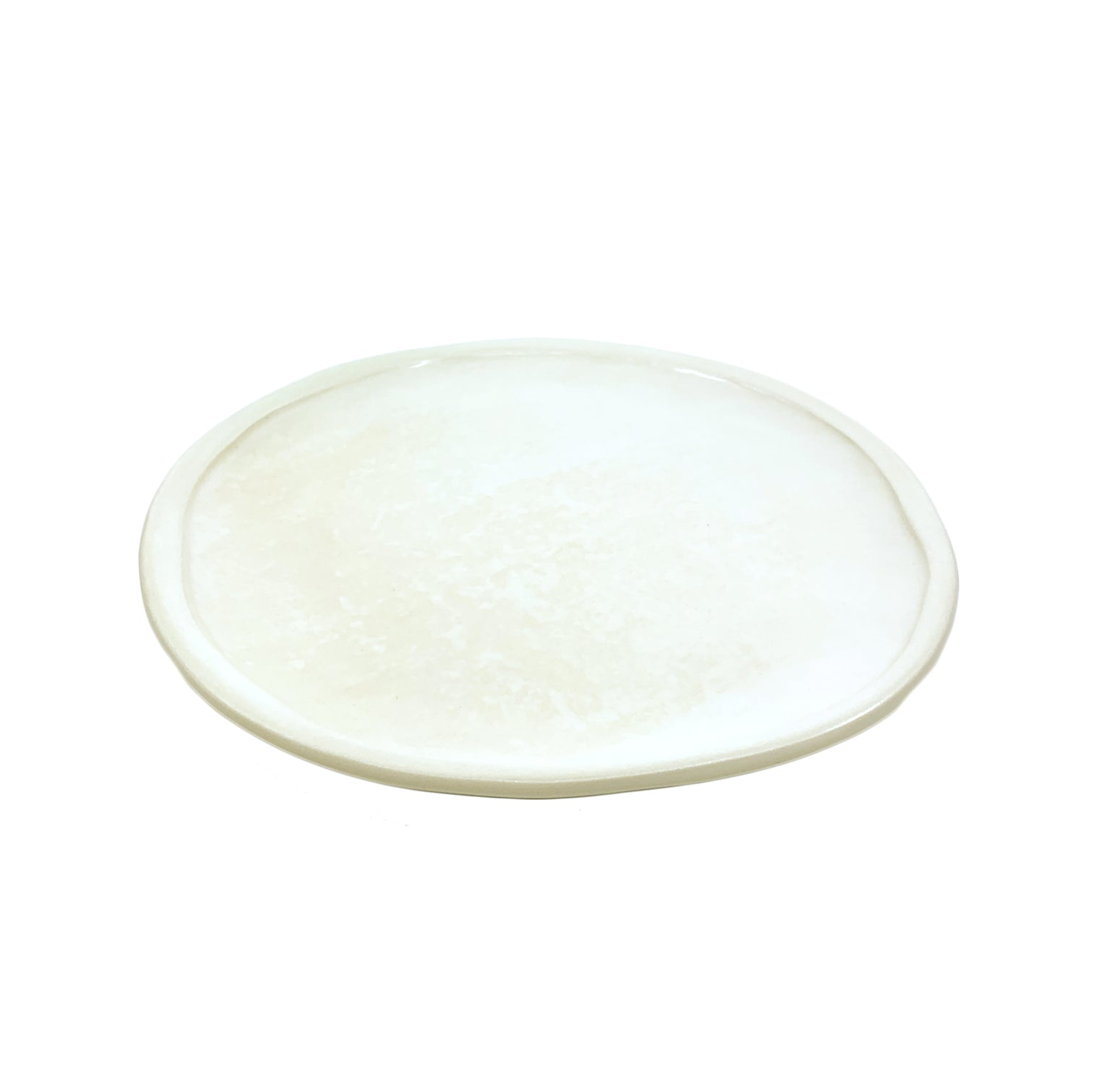 Peasant Plate Small Pearl