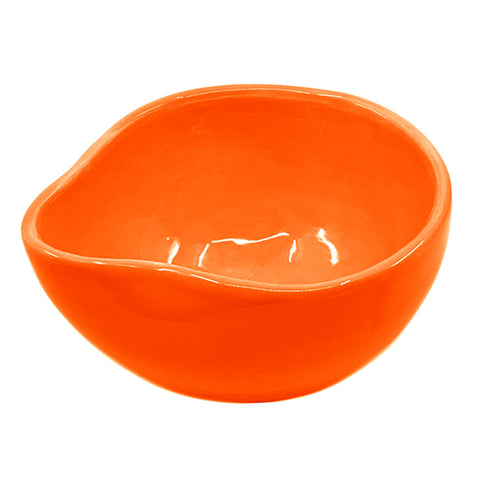 POURING BOWL LARGE MANDARIN