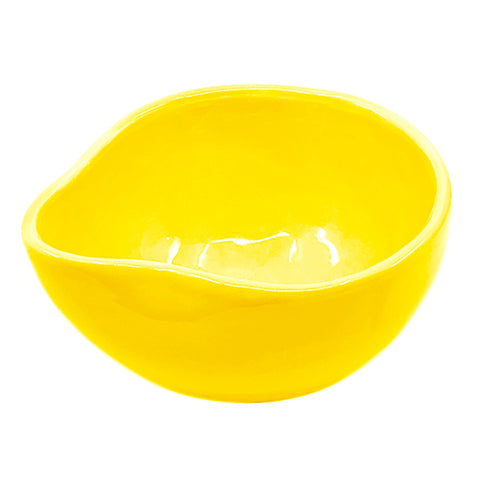 POURING BOWL LARGE YELLOW